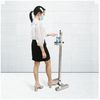 Foot Pedal Hand Sanitizer Dispenser with Floor Stand Fyp-0013