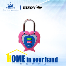 Zinc Alloy Combination Padlock WA314-3